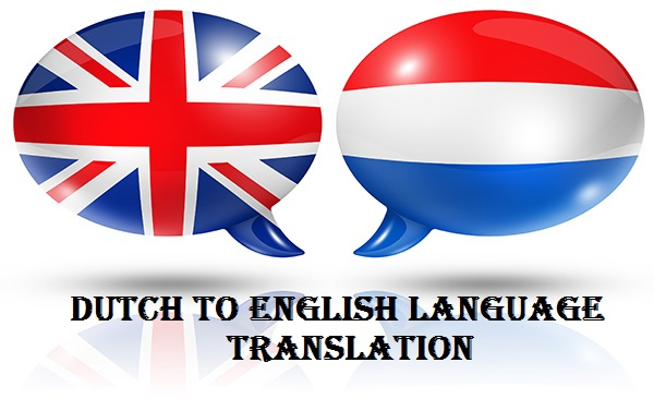 Dutch to English Language Translation