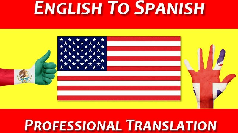 English to Spanish Language Translation