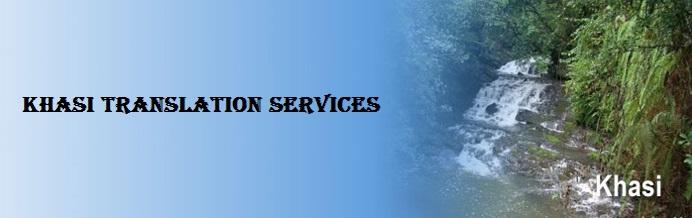 Khasi Translation Services