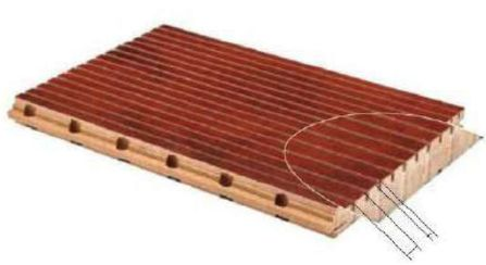Wooden Grooved Acoustic Panels