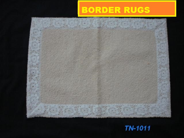 Cotton Border Rugs