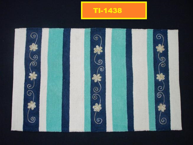 Cotton Embroidery Rugs