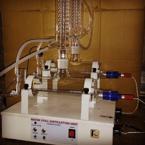 Laboratory Water Still Distillation Unit