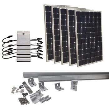 Solar System On Grid Kits
