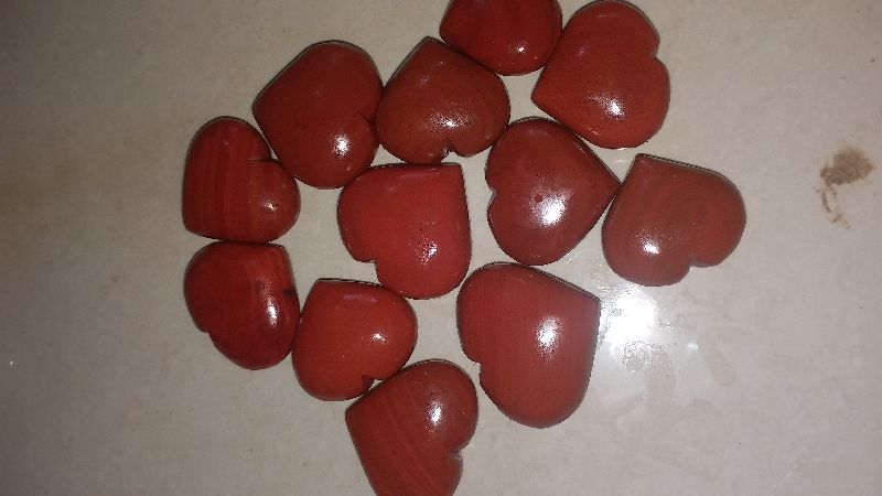Jasper Stone Heart