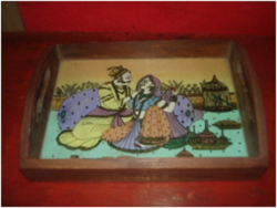 Sheesham Wooden Tray