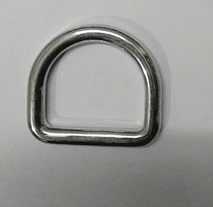 D Ring Without Bar Belt Buckle