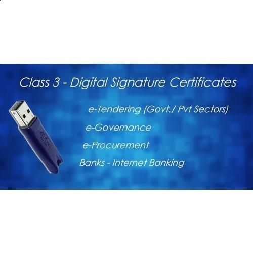 Class 3A Organization Digital Signature Certificate