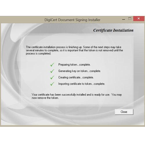 Document Digital Signature Certificate
