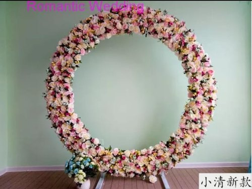 Artificial Flower Ring