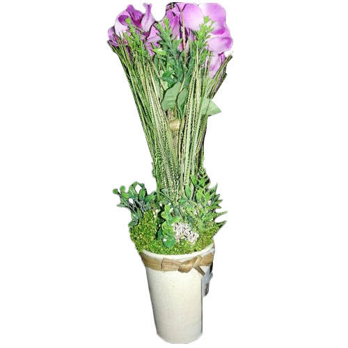 Artificial Orchid Flower With Pot