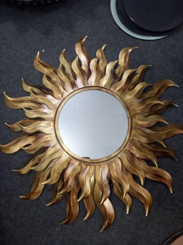 Decorative Golden Sun
