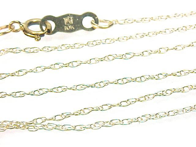 10KT Yellow Gold Chain Necklace