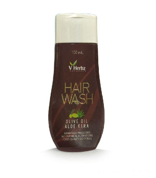 Olive Oil and Aloe Vera Shampoo