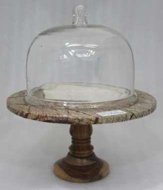 Glass Cake Dome