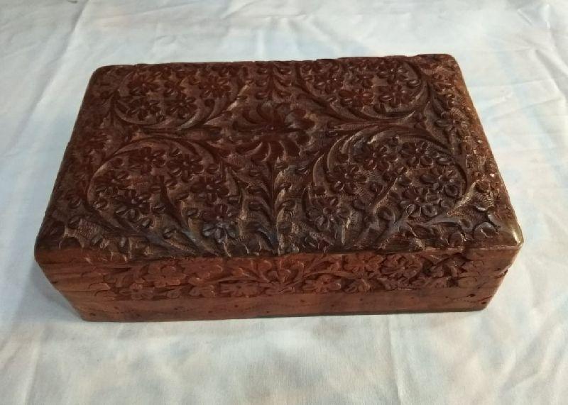 Wooden Kashmiri Carving Box