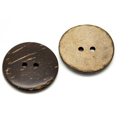 Coconut Shell Kurti Buttons