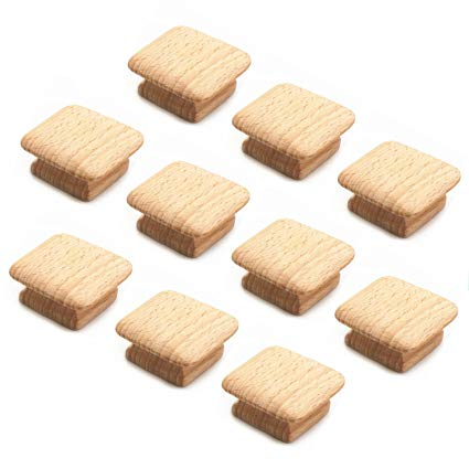 Square Wooden Knobs