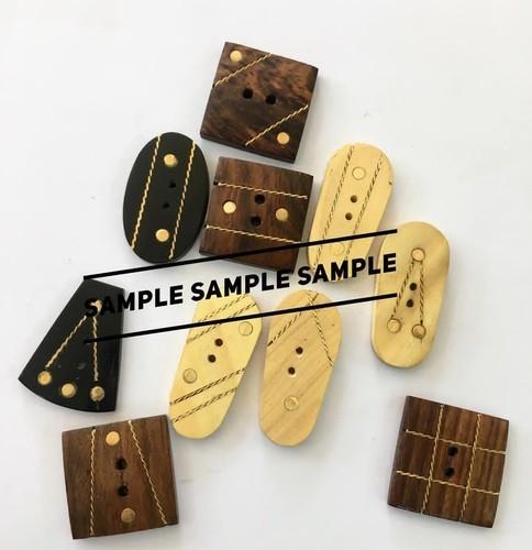 Wooden Fancy Buttons
