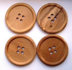 Wooden Garment Buttons