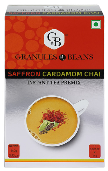 Saffron  Cardamom Tea