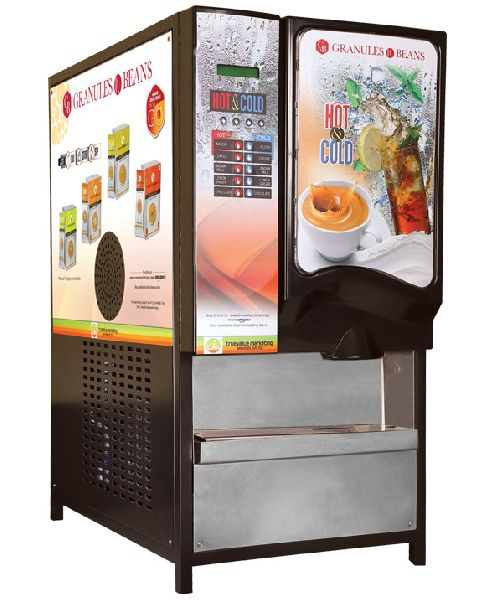 Hot and Cold Vending Machine