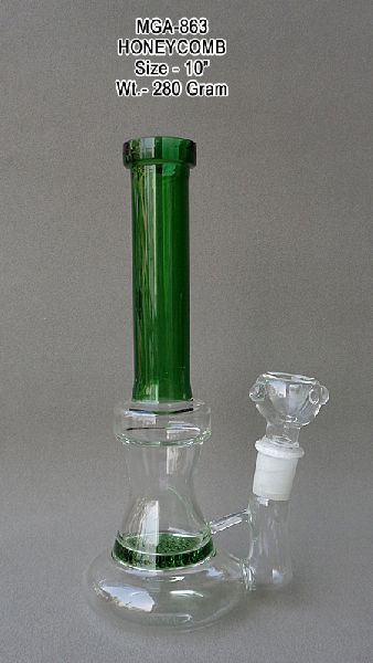 Glass Honeycomb Water Pipes