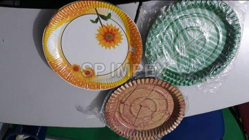 Laminated Disposable Paper Plates