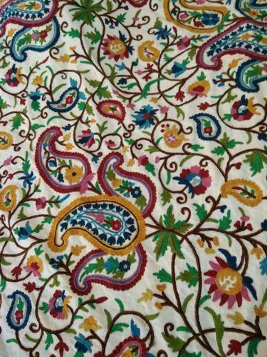 Kashmiri Crewel Fabric