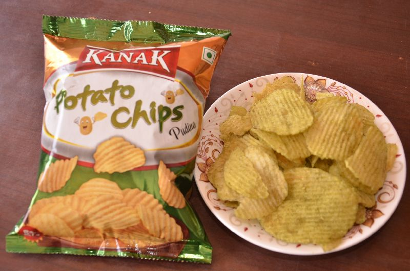 Pudina Flavour Potato Chips