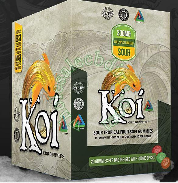KOI Gummies Box of 12 Packs