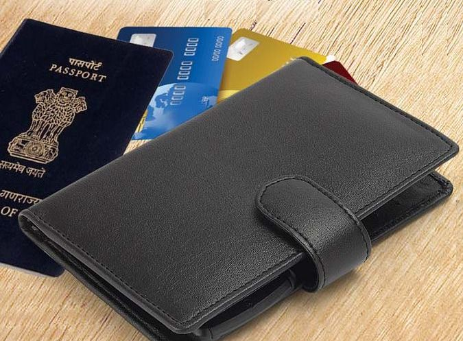 Leather Passport Holder