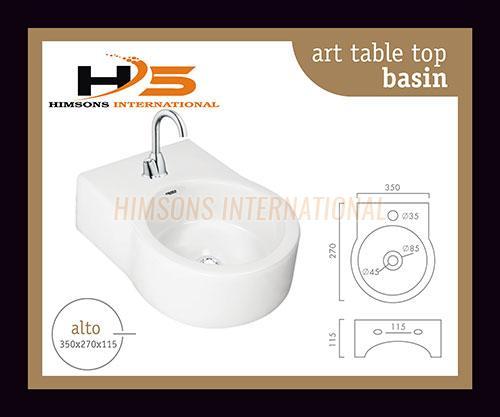 Art Table Top Wash Basin