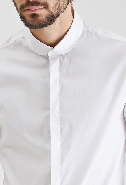 Mens Round Collar Shirts