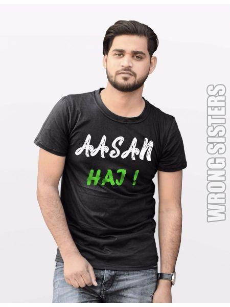 Aasan Hai Printed T-Shirt