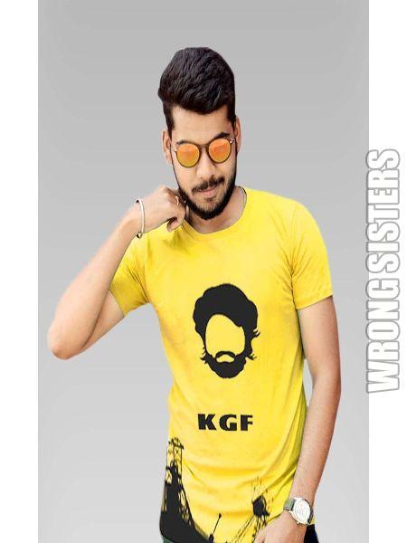 KGF Printed Half Sleeve T-Shirt