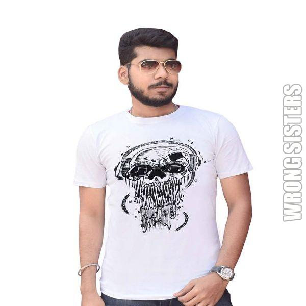 Skull Head Graphic T-Shirt