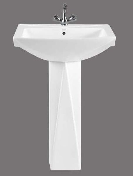 Diamond Full Pedestal Wash Basin
