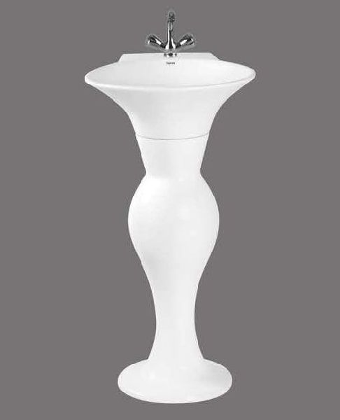 Rossa Full Pedestal Wash Basin