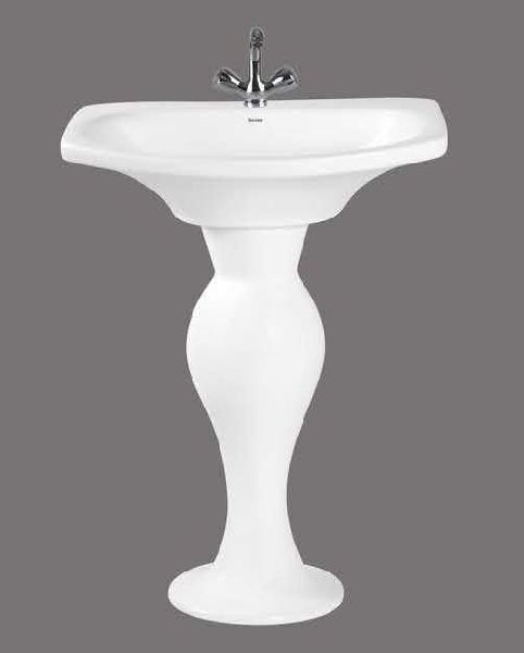 Secmi Full Pedestal Wash Basin