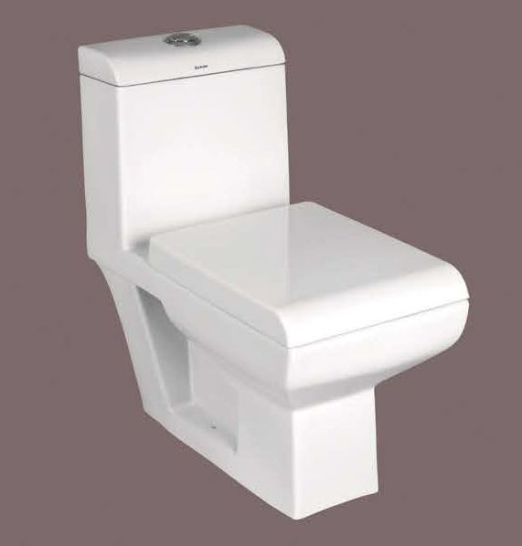 Silvenia One Piece Toilet Seat