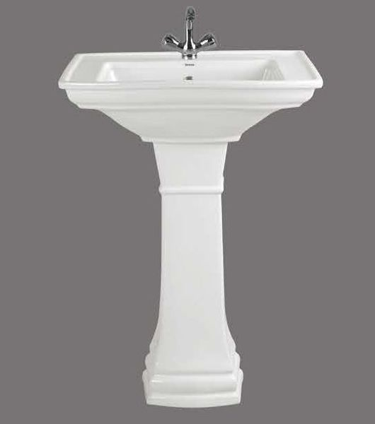Soyo Gold Full Pedestal Wash Basin