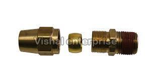 Brass Compression Flare Cap