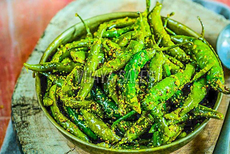 Athana Green Chilli Pickle