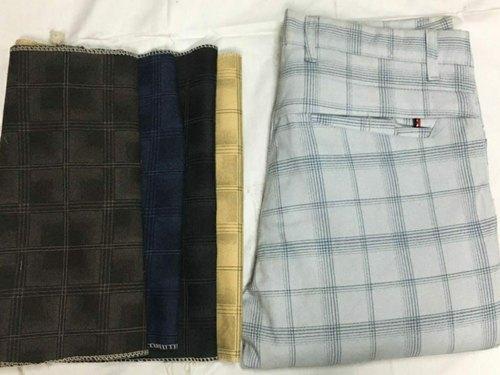 Mens Checkered Pant
