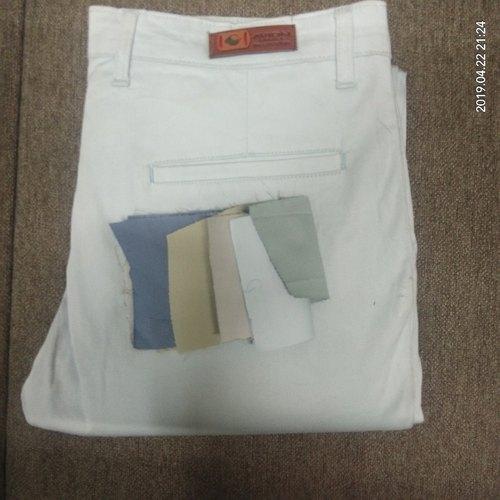 Mens White Trouser