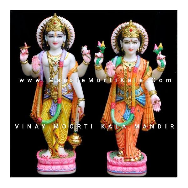 Laxmi ji Vishnu ji statues