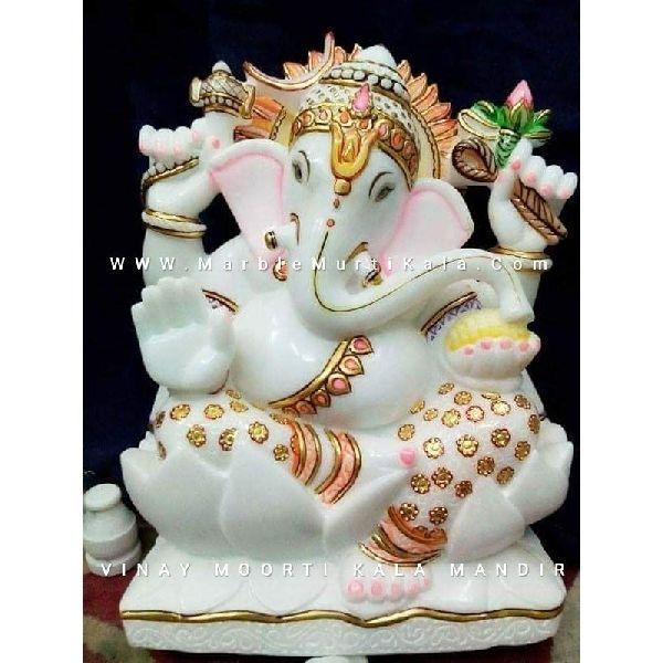 Lord Ganesh Marble Idol