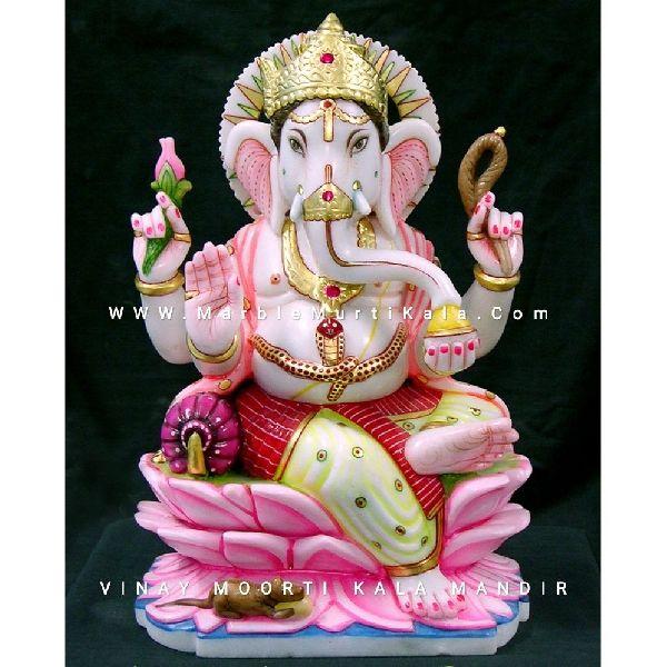 Multicolour Ganesh Statue