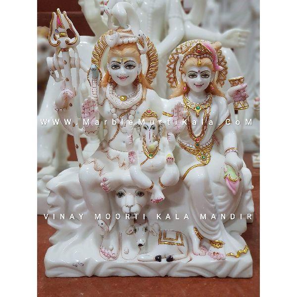 Shiv Parivar Marble Statue Manufacturer Supplier In Jaipur